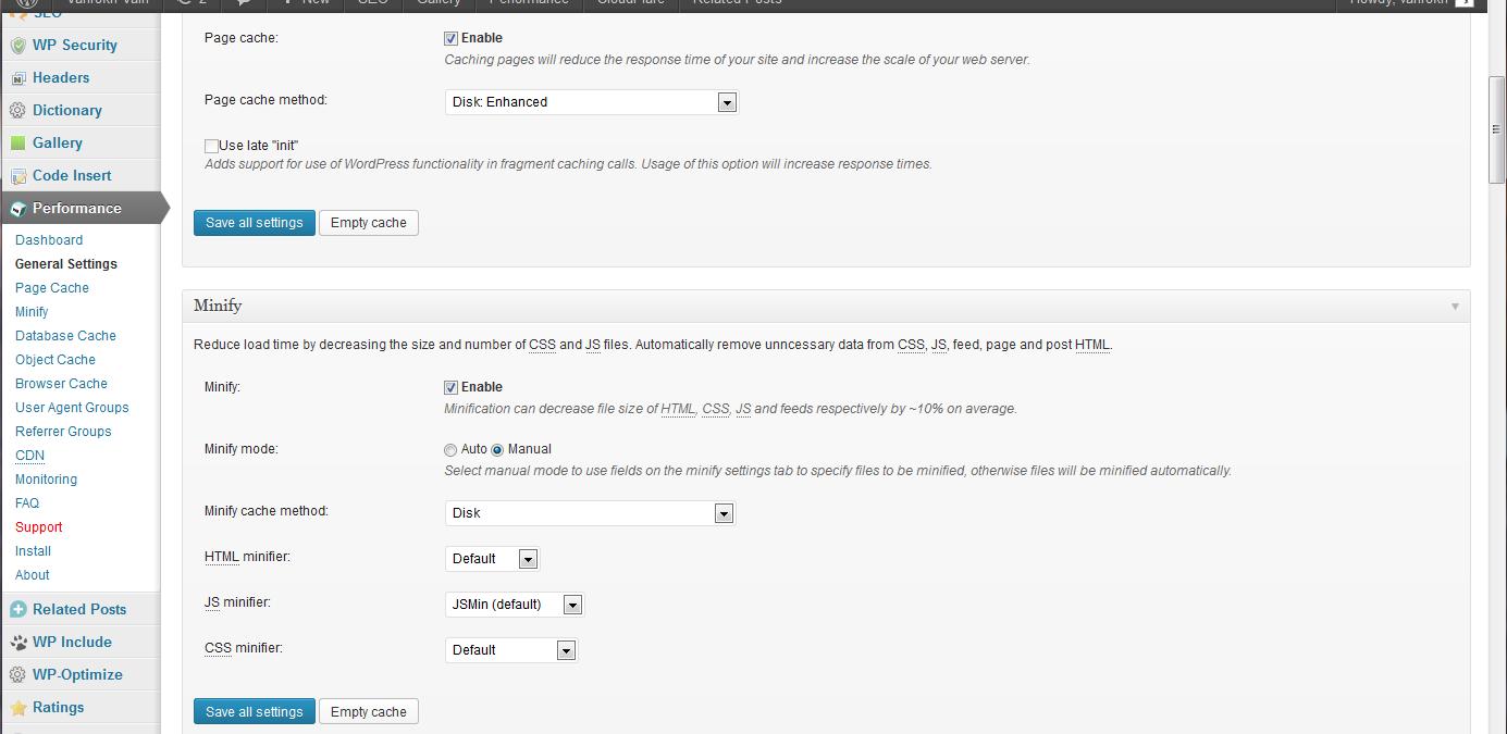 Fix to: W3 Total Cache minify may break WordPress plug-ins,