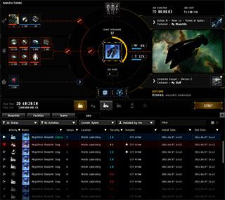 EvE Online UI
