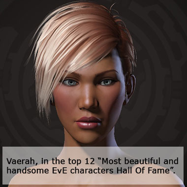 Most beautiful and handsome EvE character